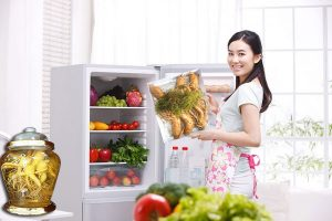Bảo quản nhân sâm tươi trong tủ lạnh